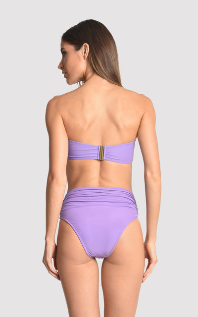 Quartz  Bikini Drop Bandeau Top  (Sustainable Collection)