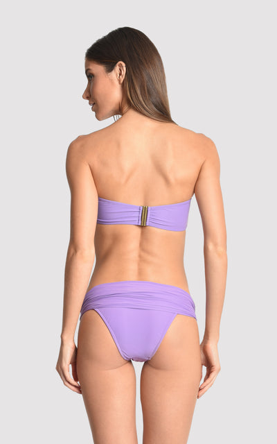 Quartz Drop Bandeau Top and High Waist Bottom