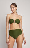 Grove Drop Bandeau Top and High Waist Bottom