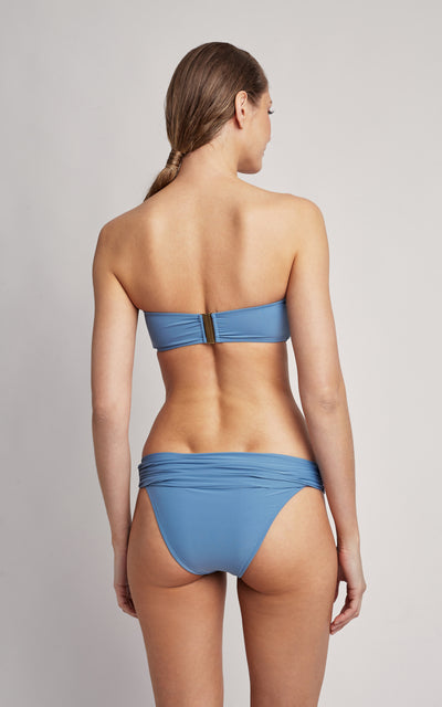 Biodegradable Lycra Touch Pacific Drop Bandeau Top and High Waist Bottom