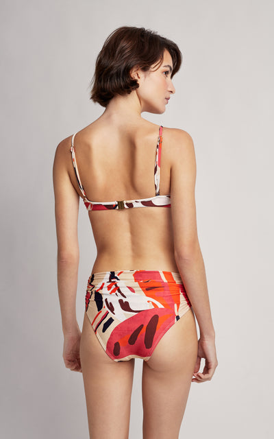 Tahiti Bikini Twist Top and High Waist Bottom