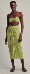Lime  Knot Sarong (Sustainable Collection)
