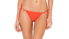 Red Coral Bikini Top and Bottom Tie Delhi String (Final Sale)