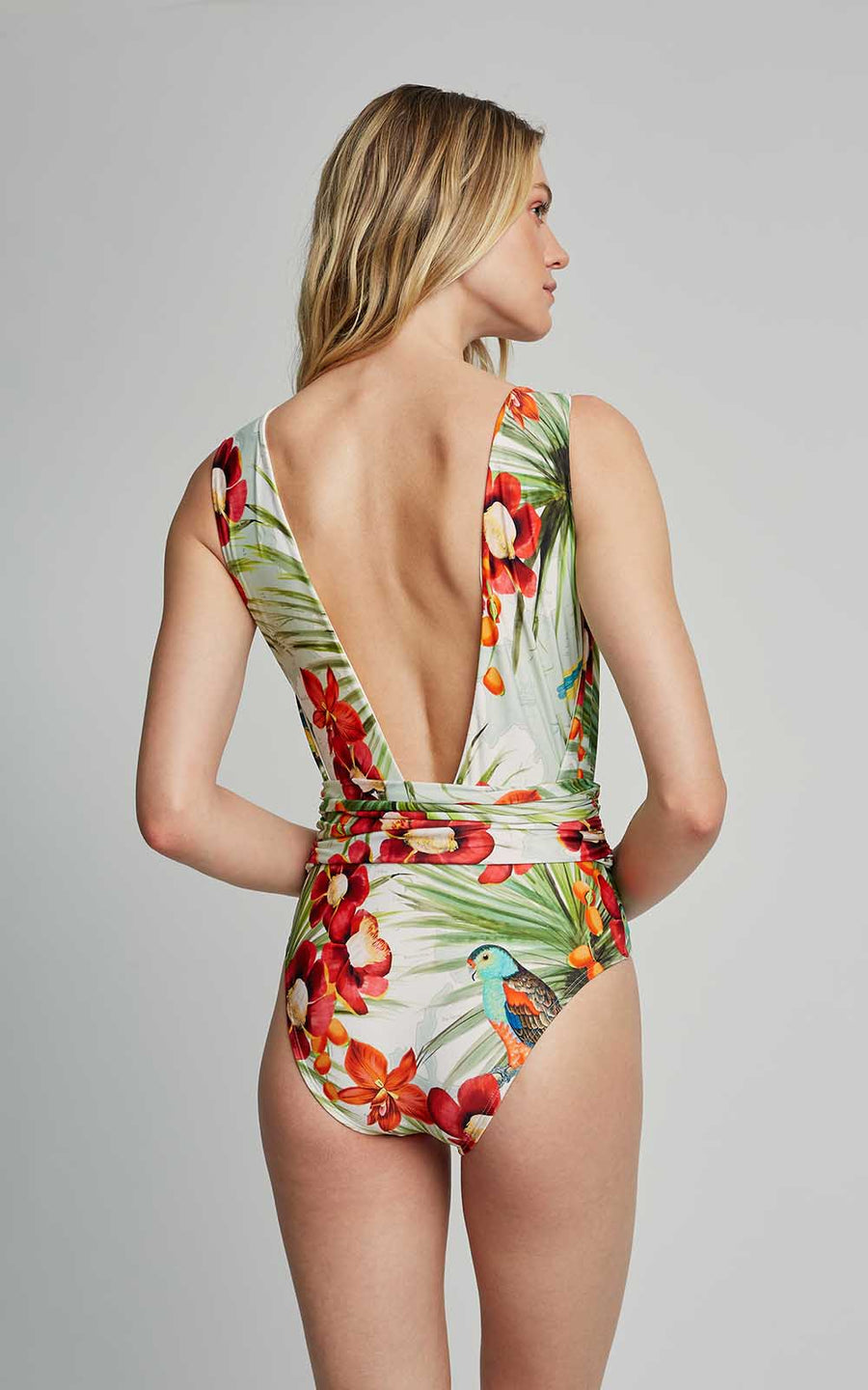Map Cachecouer One Piece Swimsuit