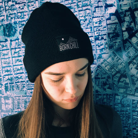 BAY BRIDGE BEANIE, BLACK