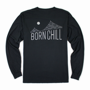 BAY BRIDGE REFLECTIVE LONG SLEEVE, BLACK