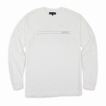 BAY BRIDGE REFLECTIVE LONG SLEEVE, WHITE