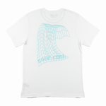 Digital Wave Tee - White