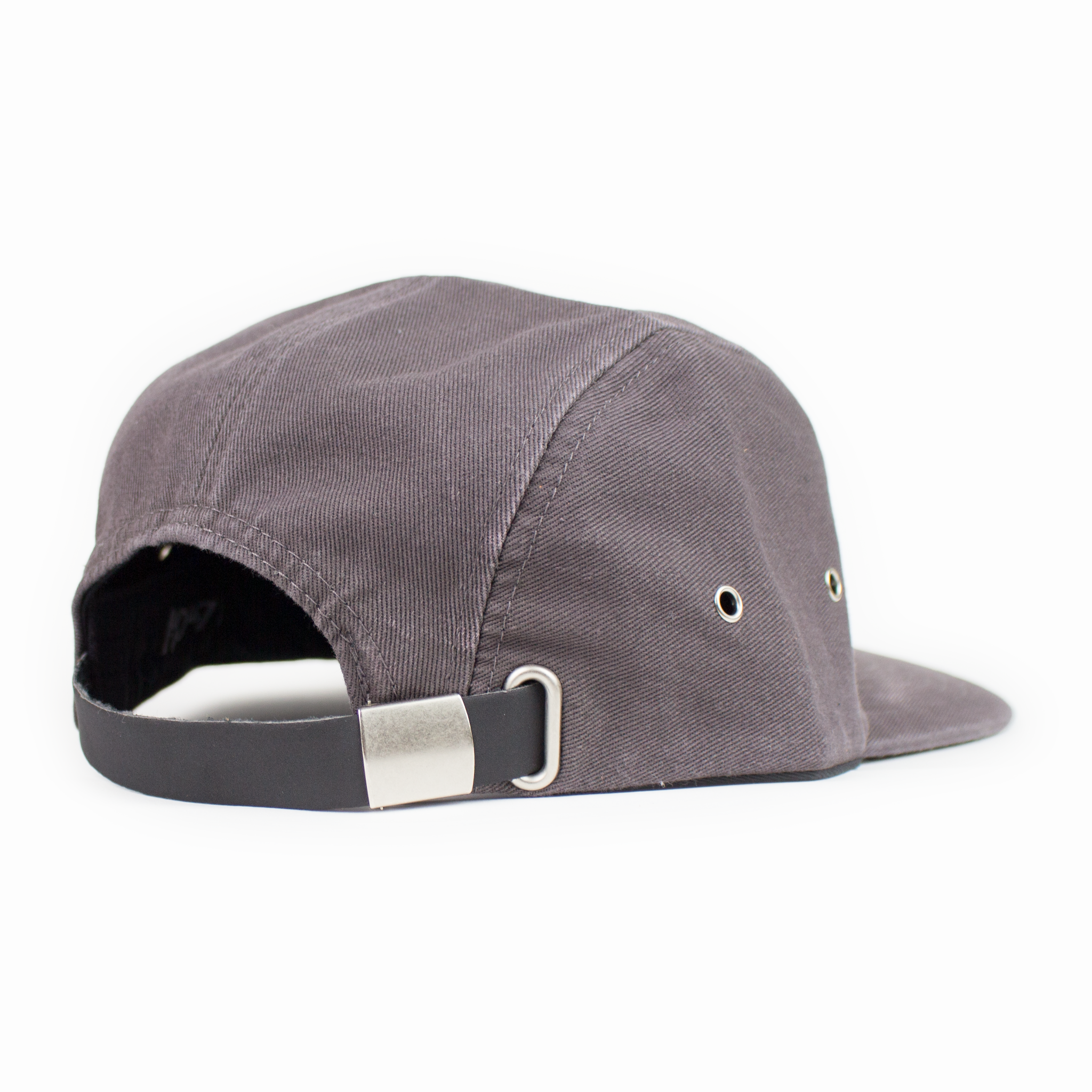 DIGITAL WAVE 5-PANEL CAMP HAT, FADED GRAY
