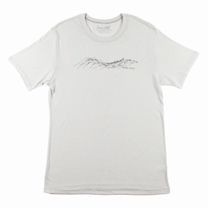 HAND DOLPHIN TEE, SILVER