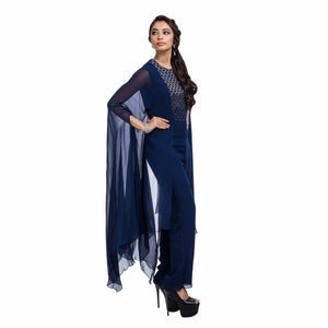 Split Sleeves Jumpsuit