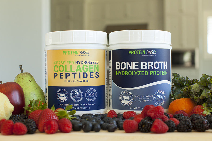 Protein Basix Launches Hydrolyzed Collagen Peptides and Bone Broth Protein Powder