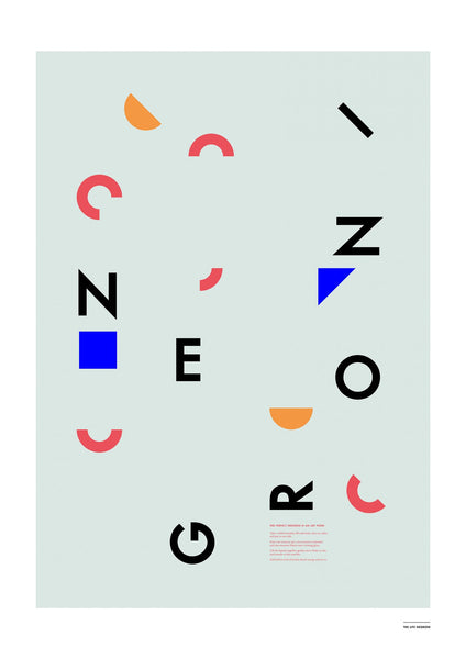 Negroni Letters Poster