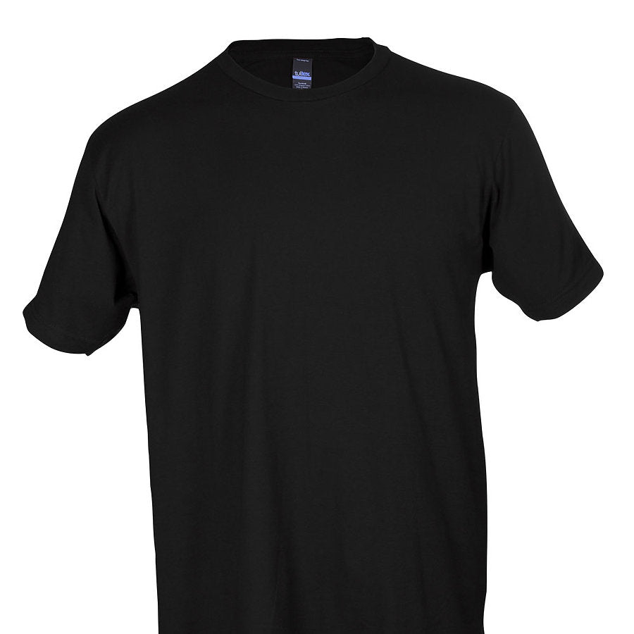 0202 Tultex Black T-shirt (lot of 64)