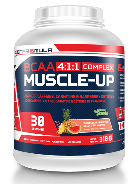 5Star 4-1-1 MUSCLE UP (BCAA)
