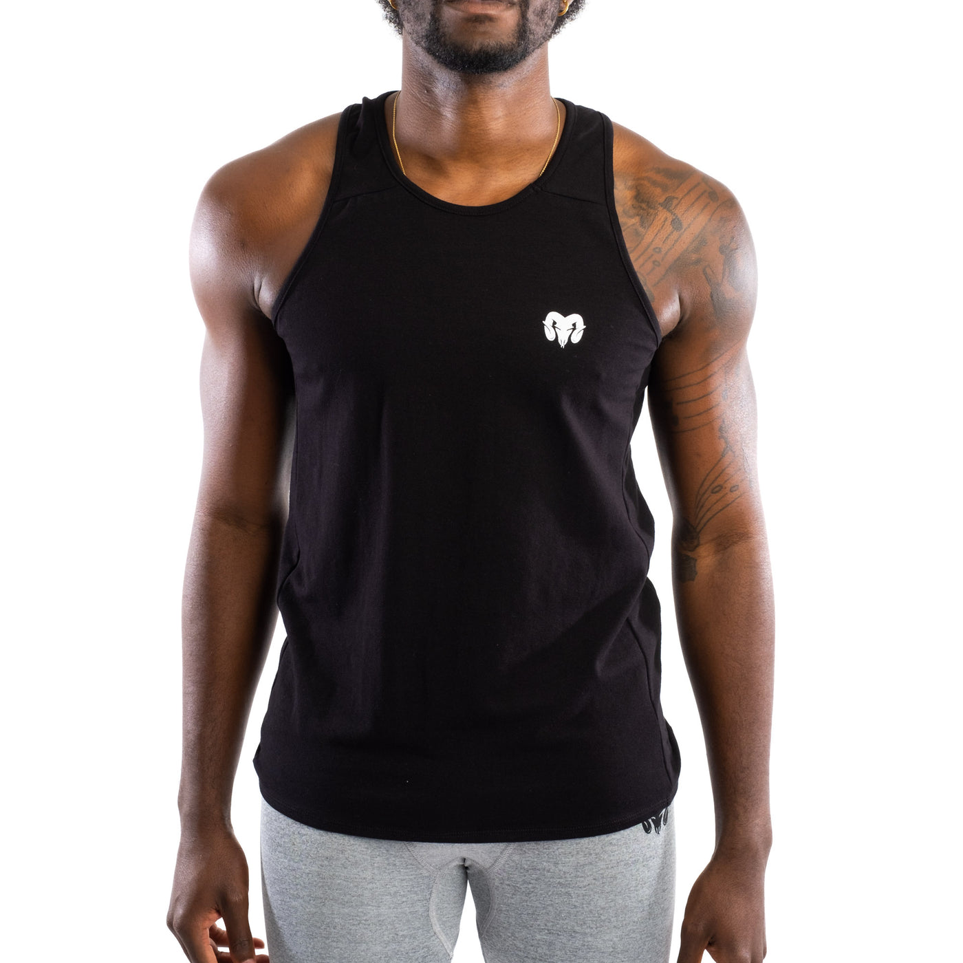 Dry Fit Training Tank Top, Black