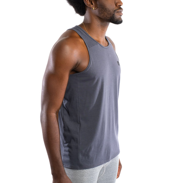 Dry Fit Training Tank Top, Cement