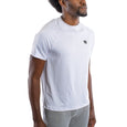 Quick Dry Compression Gym T-Shirt, Regular Fit, White