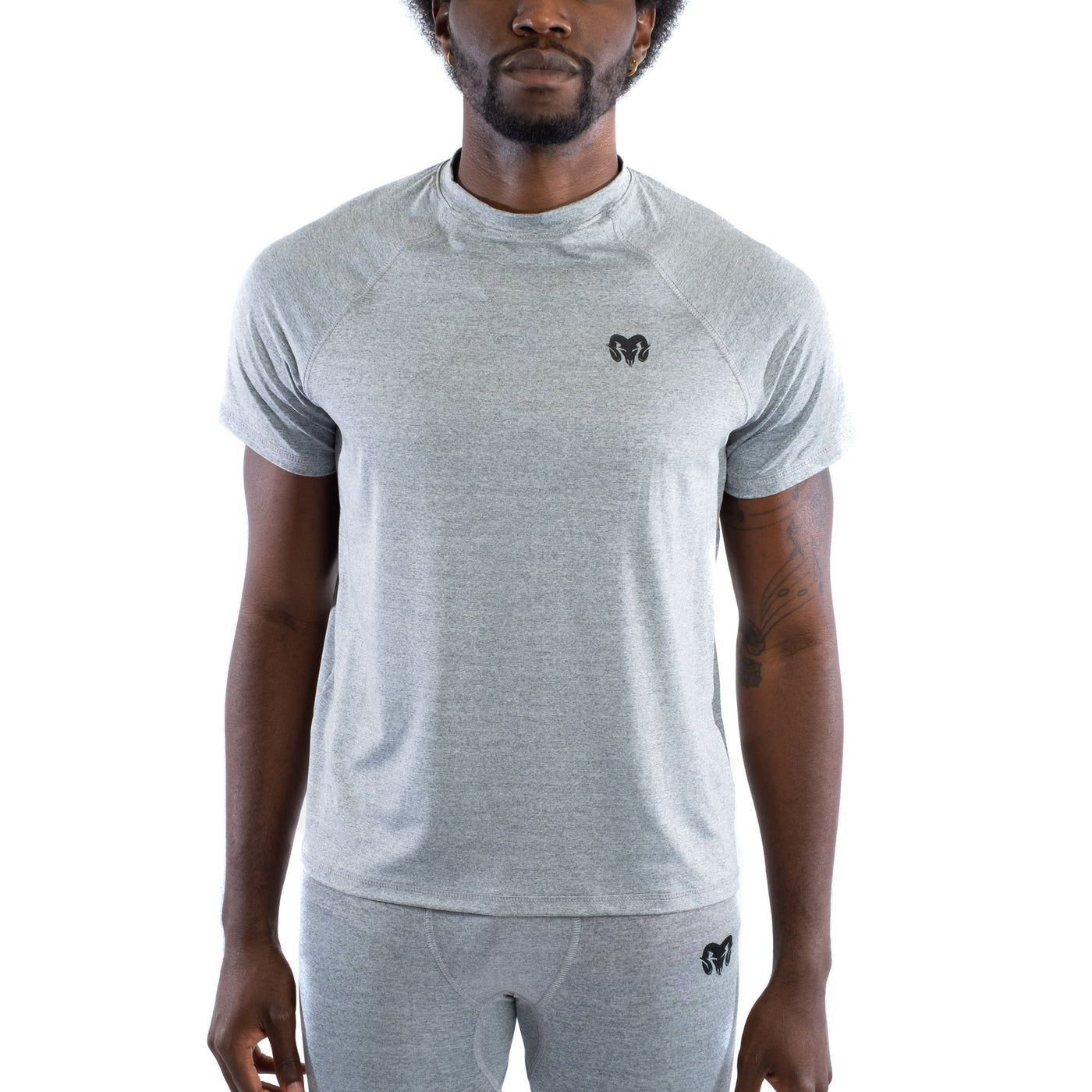 Quick Dry Compression Gym T-Shirt, Regular Fit