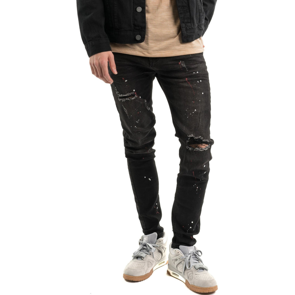 Painter Pants, Black Wash