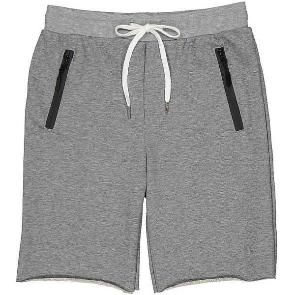 French Terry Shorts, Grey