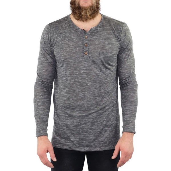 Henley, Heather Gray