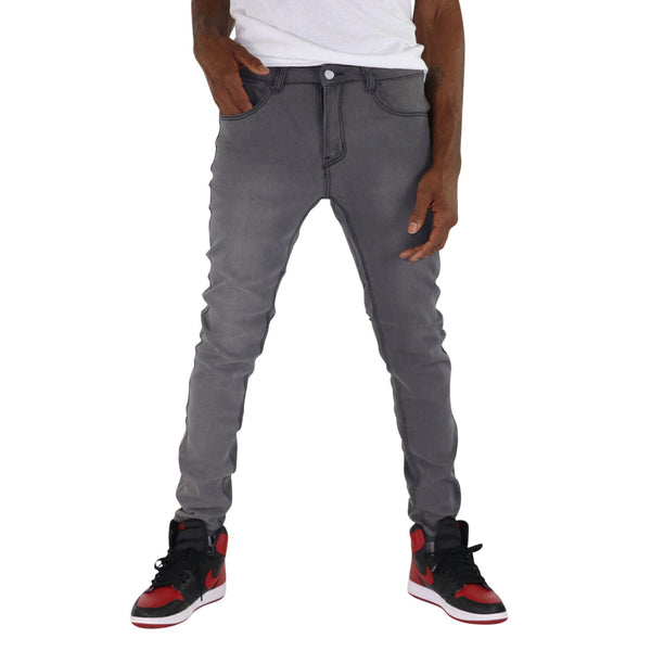 Slim Fit Pants, 07-Smokey Gray