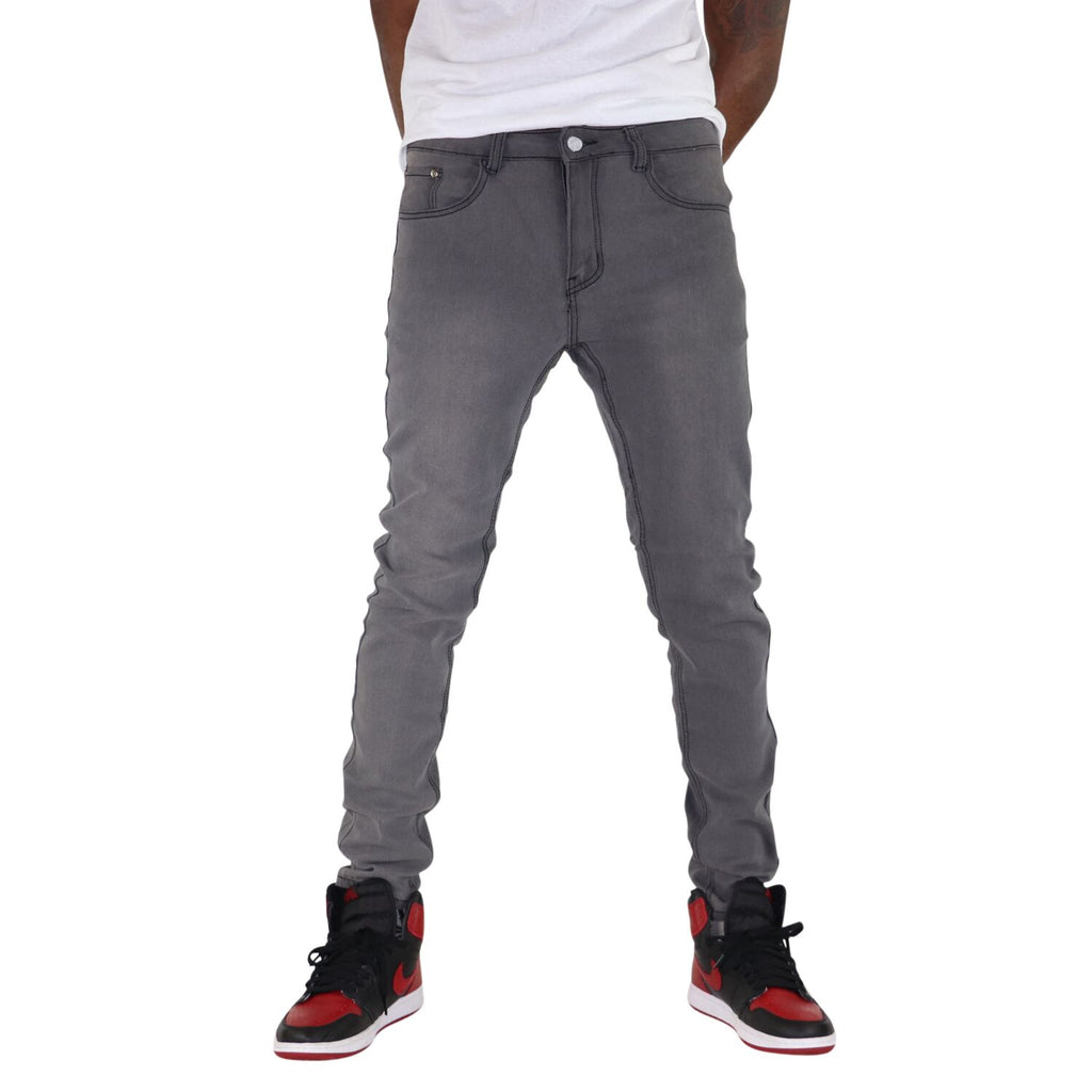 Slim Fit Pants, Smokey Gray