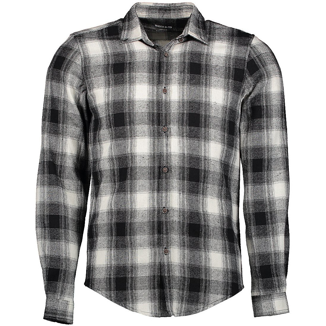 Flannel Shirt, Mesh Black