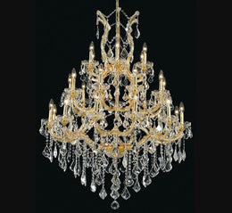 28 Light Maria Theresa Crystal Chandelier - Italian Concept