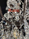 8 Light Maria Theresa Crystal Chandelier - Italian Concept