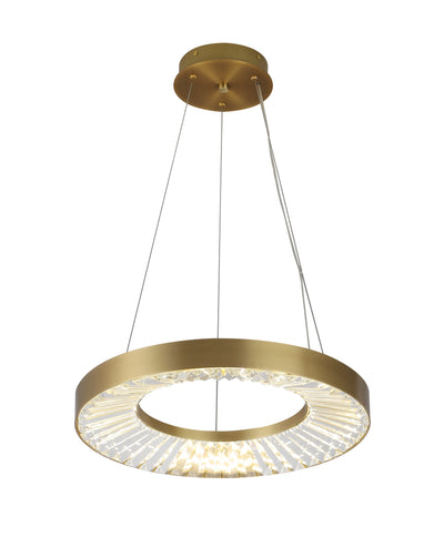 Liam Tiered Round Ring LED Chandelier - Italian Concept