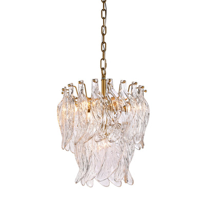 Glass Leaf 2-Tier Chandelier NEW Collection 2020 - 80 - Italian Concept