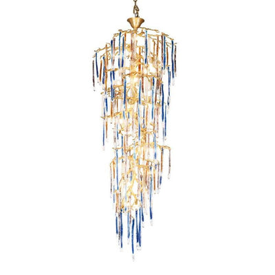 Predella Branching Glass Foyer Chandelier - Italian Concept