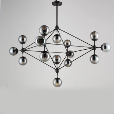 Diamond Branching Glass Globe Bubble Chandelier - Italian Concept