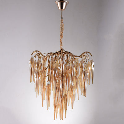 Glacier Organic Branching Round Chandelier 8002-800A - Italian Concept