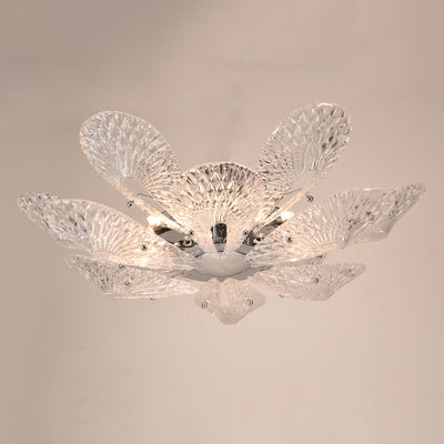 Bella Murano Glass Flower Chandelier - Italian Concept