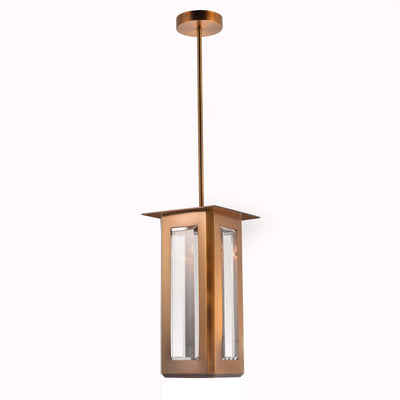 Baluster Rectangle Pendant Light - Italian Concept