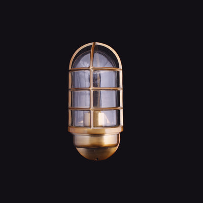 Caged Glass Sconce - Italian Concept