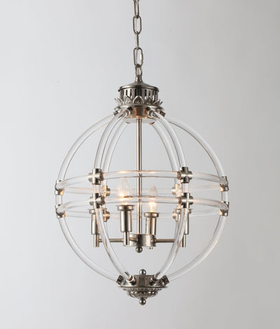Frasier Glass Globe Hotel Pendant Light - Italian Concept