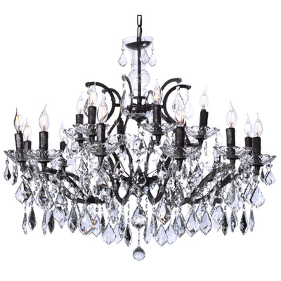15 Light Maria Theresa Crystal Chandelier - Italian Concept