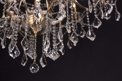 25 Light Maria Theresa Clear Crystal Chandelier - Italian Concept