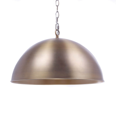 Metal Half-Dome Pendant Light - Italian Concept