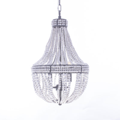 Amele Wood Beaded Chandelier - Italian Concept