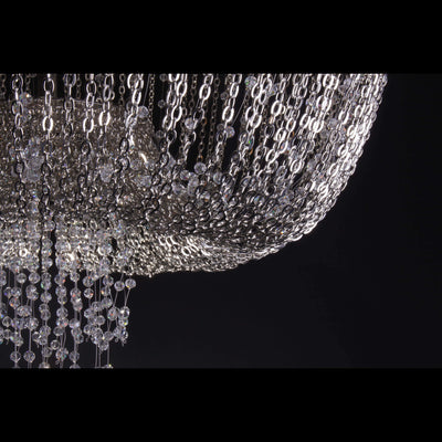 Almarant Empire Chain Crystal Chandelier - Italian Concept