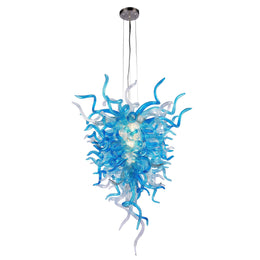 "Murano Sputnik Glass 47"" Height Chandelier - Italian Concept"