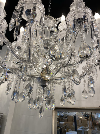 "Toussaint Maria Theresa 39"" Crystal 19 Light Chandelier - Italian Concept"