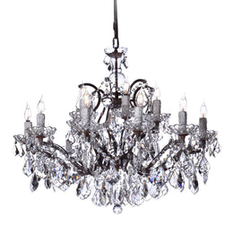 18 Light Maria Theresa Crystal Chandelier - Italian Concept