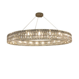 Mia Round Crystal Ring Chandelier - Italian Concept