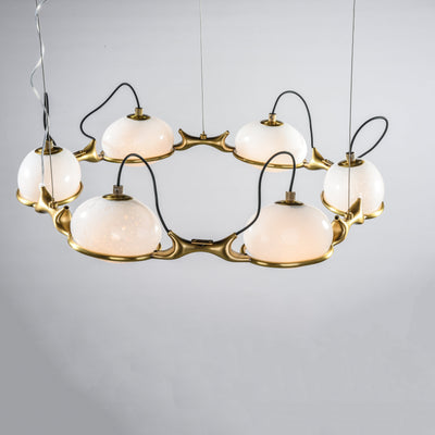 Axel Branching Glass Chandelier - Italian Concept